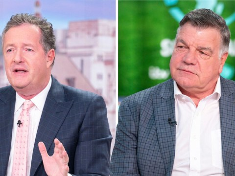 Piers Morgan threatens to 'punch Sam Allardyce in the face' as he spills take-no-prisoner Soccer Aid tactics
