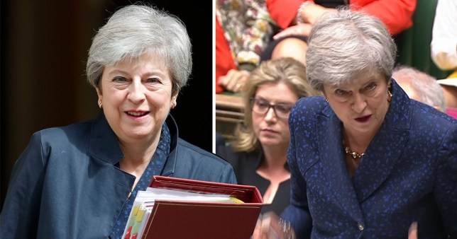 SEC_73483424 Theresa May vows to stay on as backbencher after stepping down as PM