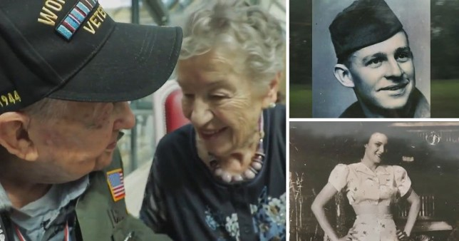They fell in love during World War II