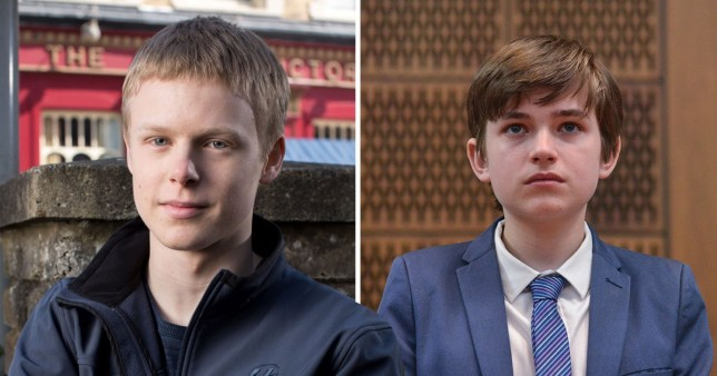Clay Milner Russell and Eliot Carrington playing Bobby Beale in EastEnders