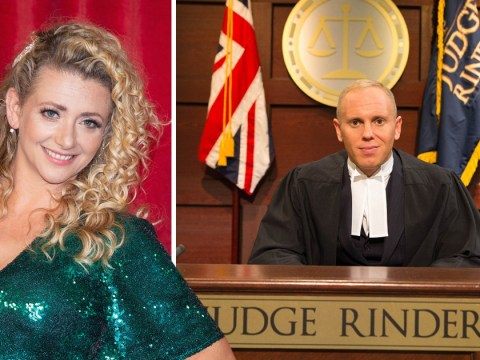 Emmerdale's Louisa Clein reveals wedding pictures – with Judge Rinder as a guest