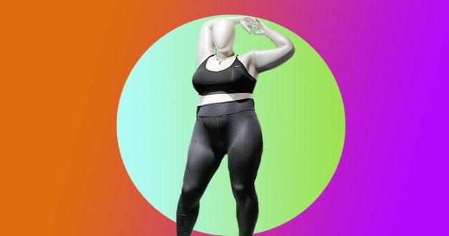 Nike's plus size mannequin
