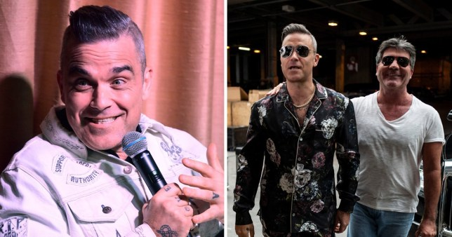 Robbie Williams reveals Simon Cowell tried to talk him out of quitting X Factor