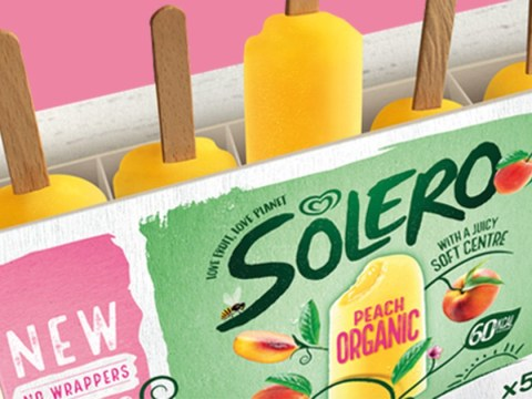 Solero to trial wrapper-less lollies in bid to cut single-use plastic