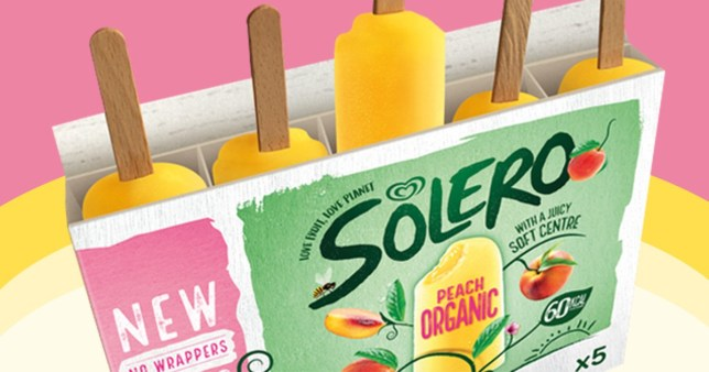 Solero ice lollies to go wrapper-less in bid to cut single-use plastic