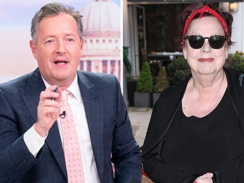 Piers Morgan questions whether Jo Brand should be sacked over 'battery acid' comment