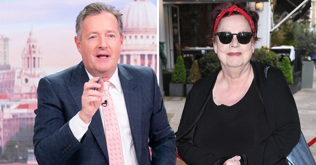 Piers Morgan Jo Brand