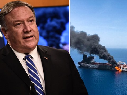 US blames Iran for attacks on two oil tankers