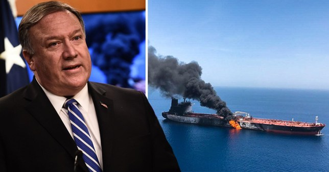 US Secretary of State Mike Pompeo blamed Iran for the attacks