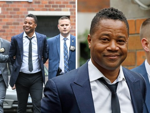 Cuba Gooding Jr. turns himself in to police over groping allegations