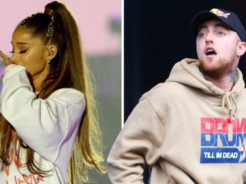 Ariana Grande cries on-stage while singing Mac Miller songs in Pittsburgh