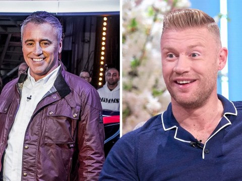Top Gear's Freddie Flintoff reveals family were excited to see him work with Matt LeBlanc which is awkward for everyone involved