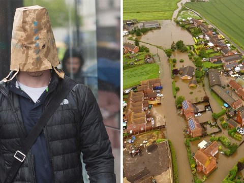 Paper bags aren't going to be much use against heavy rain hitting UK