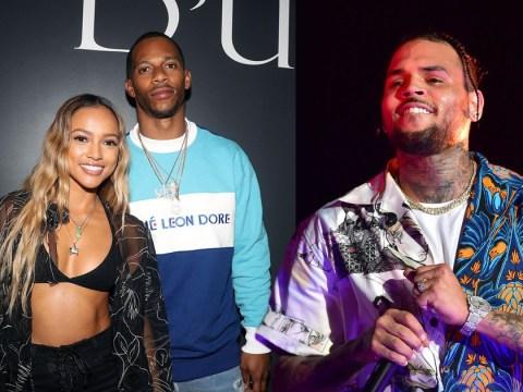 Chris Brown roasts ex Karrueche Tran's boyfriend Victor Cruz: 'Upgrade ya man'