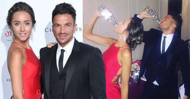 Peter Andre and wife Emily McDonagh