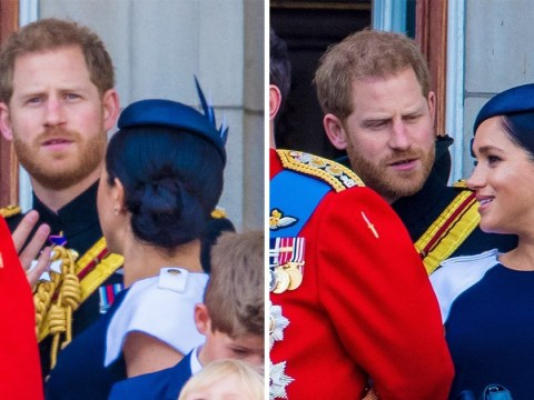 Did Prince Harry tell Meghan to 'turn around' on Buckingham Palace balcony?