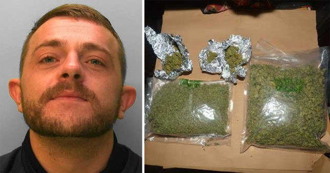 Stephen Best, 30, wrote 'Besti' on the drugs (Picture: Solent)