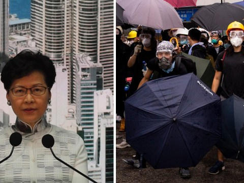 Hong Kong suspends China extradition bill debate after massive protests
