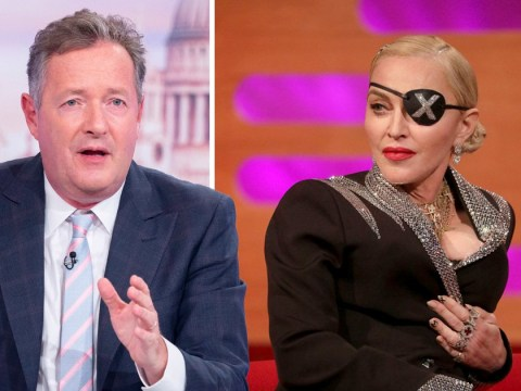 Piers Morgan slams Madonna as 'rude, vain, obnoxious' after divisive Graham Norton Show interview