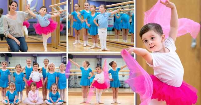Mum of 'real-life Billy Elliot' says we should embrace boys who love ballet and wearing tutus