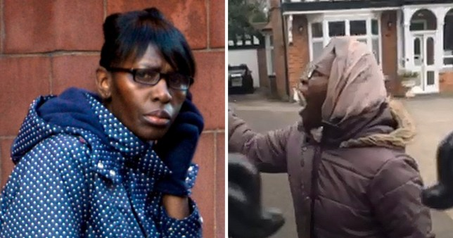 Rankine was back at Birmingham Crown Court and convicted after a trial of breaching a restraining order imposed to protect her neighbours, forbidding her to have no contact with them (Picture: BPM)