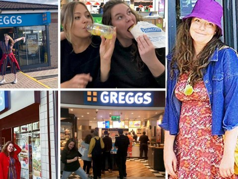 This woman who loves Greggs vegan sausage roll so much she wants to visit every store is all of us
