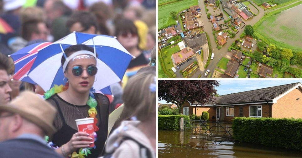 UK weather: More rain forecast after 'unprecedented' downpours in flood hit areas Lincolnshire