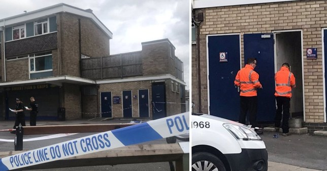 Police are appealing for information after a man was attacked with 'acid' in an Oxford public toilet (Picture: Oxford Mail/SWNS)
