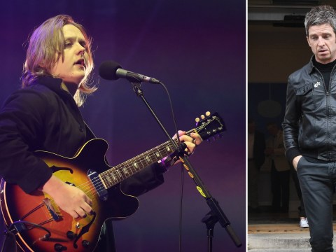 Lewis Capaldi reacts to Noel Gallagher slagging him off and it is the epitome of joy