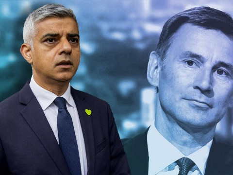 Jeremy Hunt says he '150% agrees' with Trump's attack on Sadiq Khan