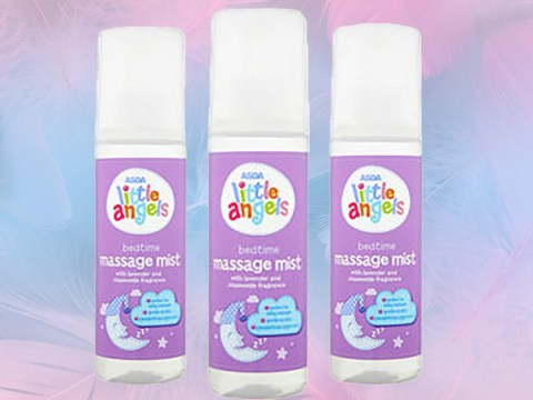 Parents love this £1.27 Asda massage mist to get their kids to sleep in minutes