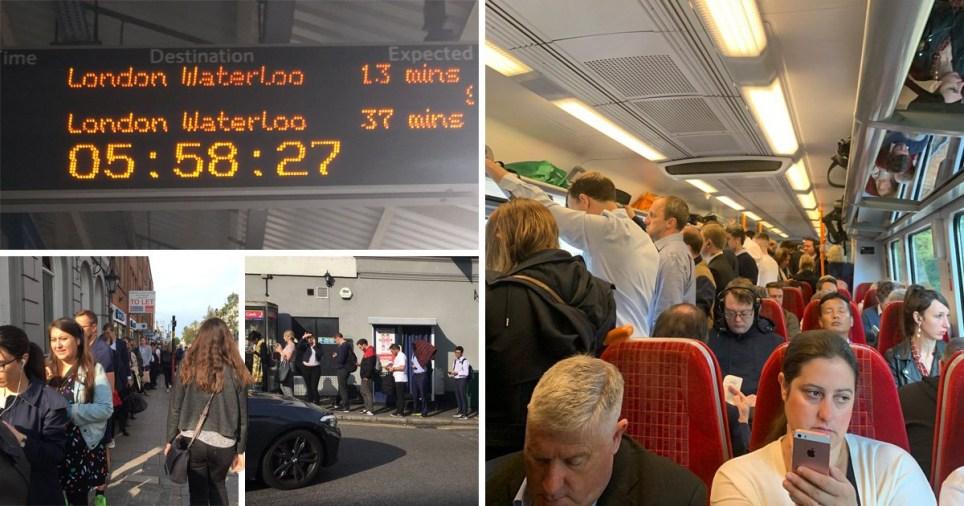 SWR Train strike