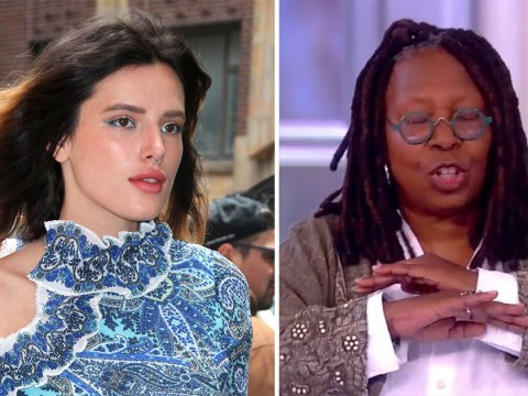 Bella Thorne tearfully slams Whoopi Goldberg after criticism for releasing her own nude photos