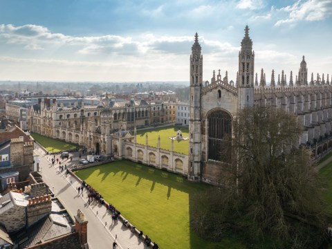 Cambridge Uni accepts more Eton grads than black men
