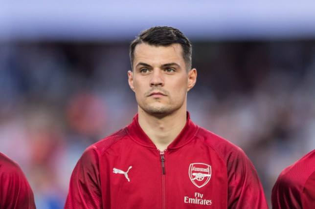 Arsenal midfielder Granit Xhaka has been heavily linked with a move to Inter