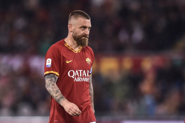 Daniel De Rossi is available on a free transfer after leaving Roma
