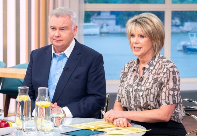 Eamonn Holmes and Ruth Langsford 'This Morning' TV show
