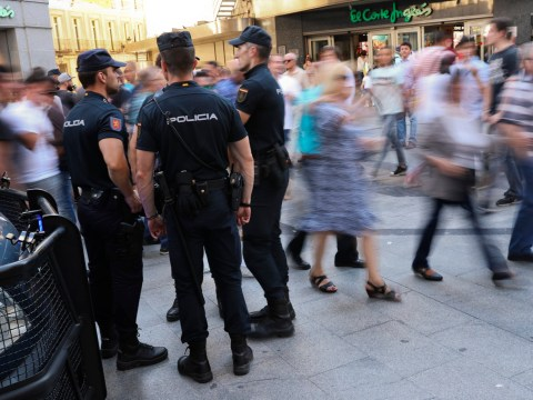 Four arrests ahead of Champions League final as police accused of 'heavy-handed response'