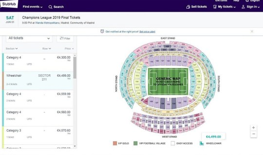 Upset fans have tickets cancelled hours before Champions League