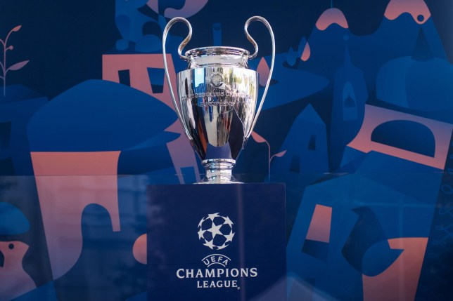 Champions League trophy arrived to Madrid ahead of the final match between Liverpool and Tottenham