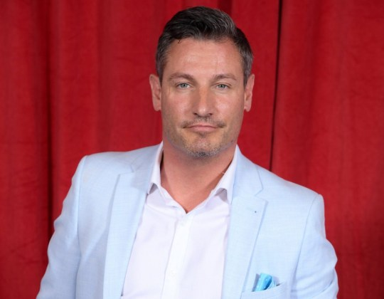 Mandatory Credit: Photo by David Fisher/ITV/REX (10256781hp) Dean Gaffney The British Soap Awards, Arrivals, The Lowry, Manchester, Britain - 01 Jun 2019