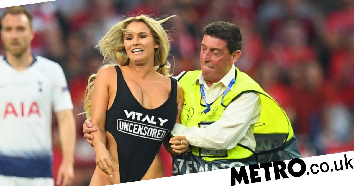 Champions League final streaker Kinsey Wolanski reveals ...