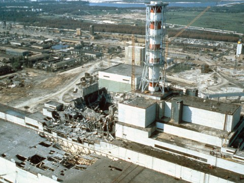 When did the Chernobyl disaster happen and how many people died?