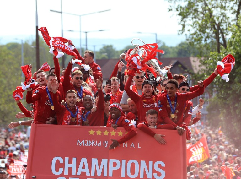 Liverpool salutes Champions League heroes as half a million