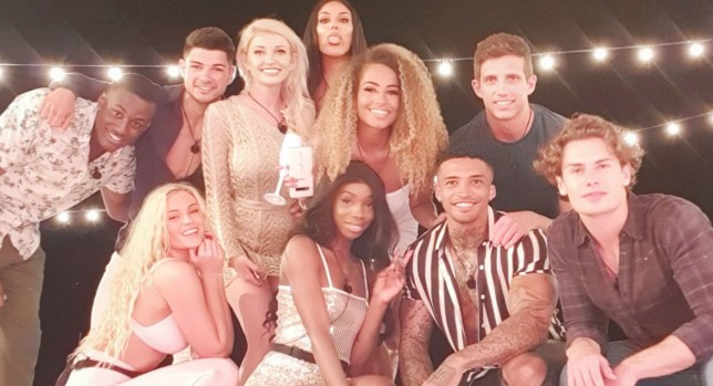 Editorial Use Only. No Merchandising. No Commercial Use. Mandatory Credit: Photo by ITV/REX (10266915at) Sherif Lanre, Lucie Donlan, Anton Danyluk, Amy Hart, Anna Vakili, Yewande Biala, Amber Gill, Michael Griffiths, Callum Macleod and Joe Garratt 'Love Island' TV Show, Series 5, Episode 1, Majorca, Spain - 03 Jun 2019 The Islanders Arrive and Couple Up Sherif Makes a Confession Lucie Proves Popular with the Boys A Meeting of Minds Between Two Islanders The Islanders Play 'Never have I Ever' Two Late arrivals Send Shockwaves Through the Villa