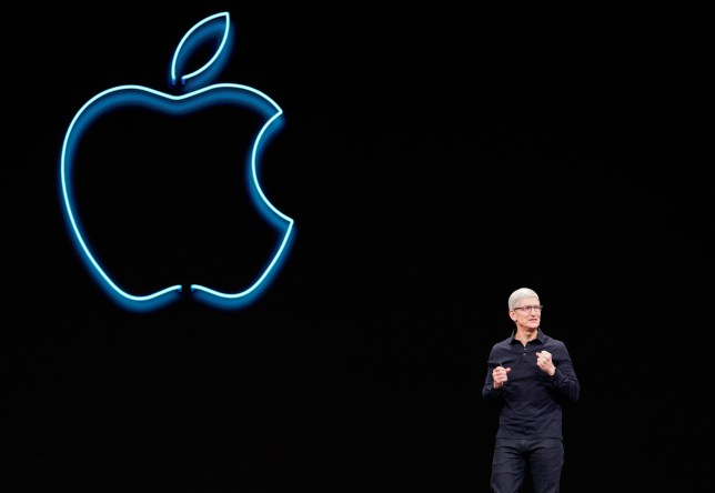 Apple CEO Tim Cook speaks during Apple's annual Worldwide Developers Conference in San Jose, California, U.S. June 3, 2019. REUTERS/Mason Trinca