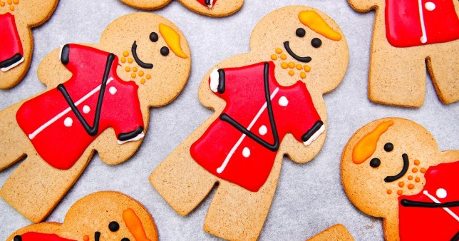 A picture of the gingerbread princes