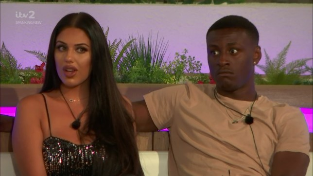 Tommy Fury chooses to couples up with Lucie Donlan on 'Love Island'. Broadcast on ITV2 Featuring: Sherif Lanre, Anna Vakili When: 04 Jun 2019 Credit: Supplied by WENN **WENN does not claim any ownership including but not limited to Copyright, License in attached material. Fees charged by WENN are for WENN's services only, do not, nor are they intended to, convey to the user any ownership of Copyright, License in material. By publishing this material you expressly agree to indemnify, to hold WENN, its directors, shareholders, employees harmless from any loss, claims, damages, demands, expenses (including legal fees), any causes of action, allegation against WENN arising out of, connected in any way with publication of the material.**