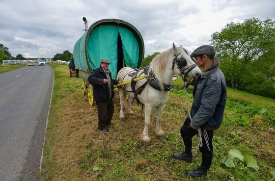 Travellers arrive from near and far to Appleby Horse Fair 2019