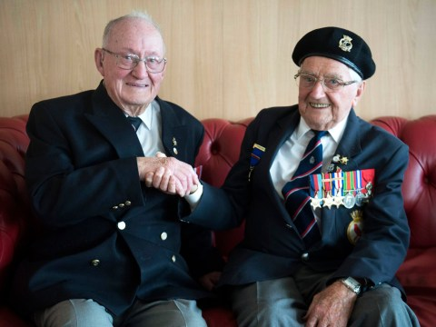 D-Day veterans who sailed together reunite over pint for first time in 75 years